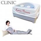 Pressoterapia Xpress Beauty Clinic con 2 gambali e kit Slim Body (fascia addome-glutei con connettore triplo) a 4 camere, per gambe, addome e glutei in forma. EAN 0638097227644