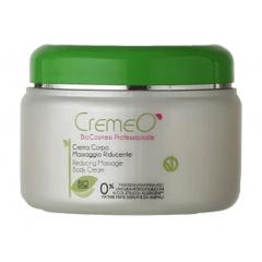 Crema Massaggio Riducente Cellulite Cremeo', utile nei casi di adiposità diffuse e localizzate, drenante e lenitiva. EAN 8028909030029