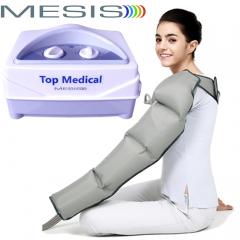 Pressoterapia Mesis Top Medical con 1 bracciale a 4 camere, per eseguire un massaggio linfatico agli arti superiori. EAN 0634065303549