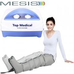 Pressoterapia medicale Mesis Top Medical Six con 1 gambale a 6 settori per eseguire un massaggio linfatico agli arti inferiori. EAN 0638097278844