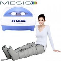 Pressoterapia medicale Mesis Top Medical Six con 2 gambali a 6 settori per il linfodrenaggio degli arti inferiori. EAN 0638097776128