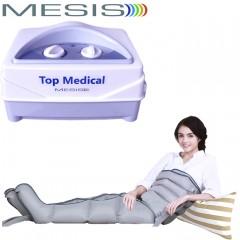 Pressoterapia medicale Mesis Top Medical con 2 gambali e Kit Slim Body (fascia addome-glutei con connettore triplo) per un massaggio linfatico a gambe, addome e glutei. EAN 0634065303563