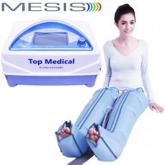 Pressoterapia medicale Mesis Top Medical Premium con 2 gambali CPS Mesis a 4 camere parzialmente sovrapposte, con 3 programmi per il linfodrenaggio delle gambe. EAN 0634065303396