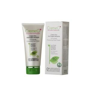 Crema Viso Anti Rughe Idratante Cremeo', con Acido Jaluronico, aiuta a combattere velocemente i segni di invecchiamento e affaticamento. EAN 8028909032115