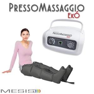 Pressoterapia PressoMassaggio EkÓ con 2 gambali, per il linfodrenaggio  domestico-EAN 0638097382886