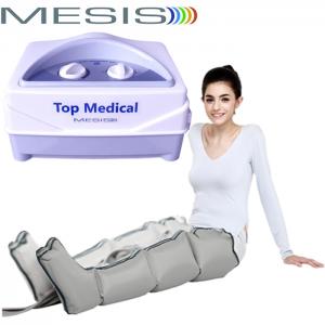 Pressoterapia medicale Mesis Top Medical con 1 gambale a 4 camere, per eseguire un massaggio linfatico agli arti inferiori. EAN 0634065303532