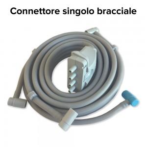 Connettore singolo per l'utilizzo del bracciale, incluso nella confezione